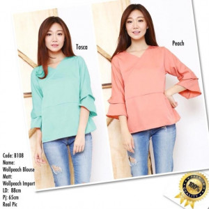 B108 WOOLPEACH BLOUSE