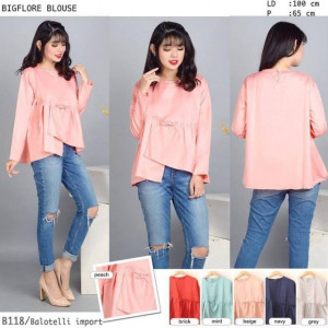 B118 BIG FLARE BLOUSE