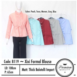 B119 XIXI FORMAL BLOUSE